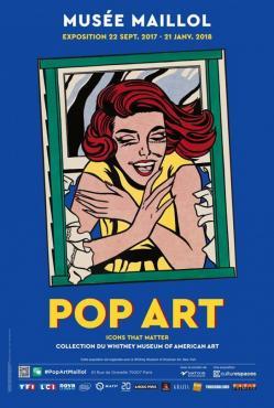 Affiche pop art