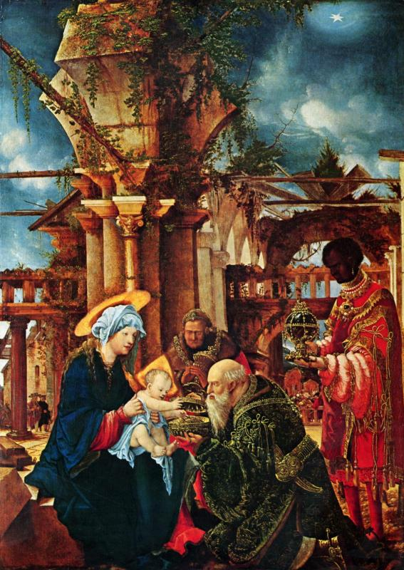 Albrecht altdorfer the adoration of the magi stadel