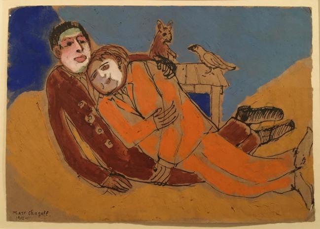 Chagall apollinaire cendrars