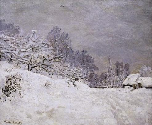 Claude monet hiver 5