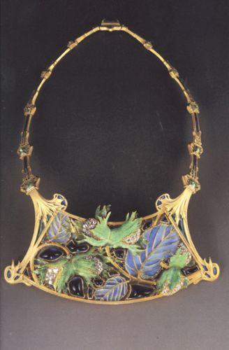 Lalique collier noisettes