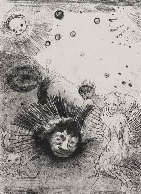 Odilon redon les origines cover 1883 trivium art history