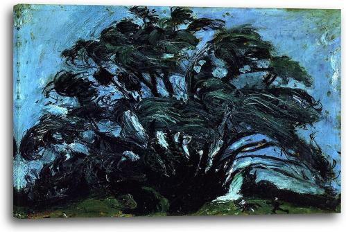 Soutine arbre dans le vent