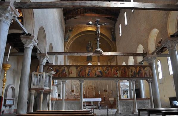 Torcello santa maria assunta interieur