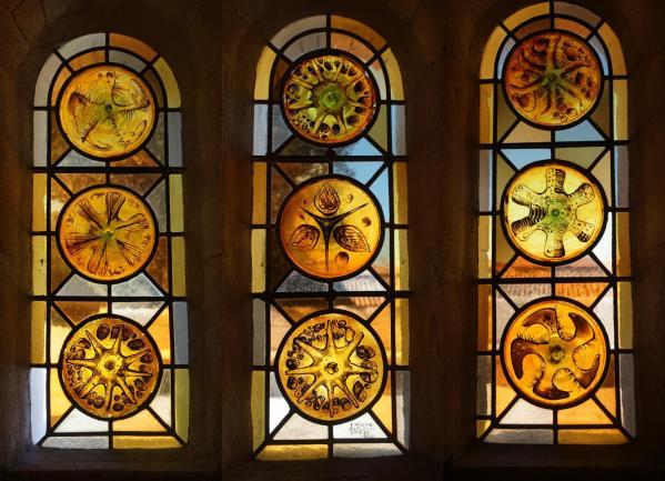 Trio vitraux