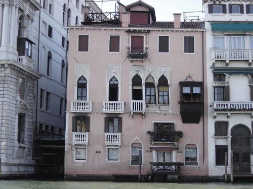 Venezia palazzo minotto barbarigo facciata