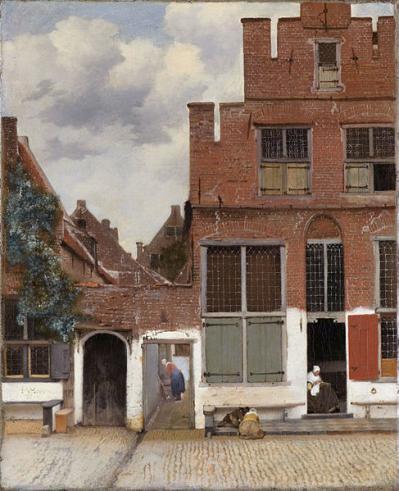 Vermeer la petite rue
