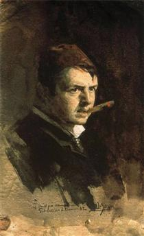 Zorn self portrait 1882
